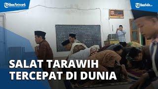 Viral Video Salat Tarawih Super Kilat di Indramayu, 23 Rakaat Hanya 6 Menit, Ruku dan Sujud 1 Detik