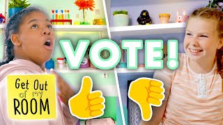 PICK YOUR FAVORITE Craft Room: Slime Lab or Pottery Studio? | Get Out Of My Room | Universal Kids