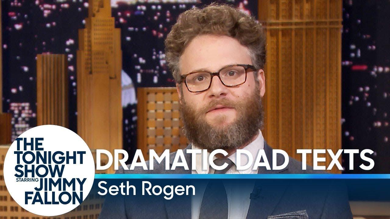 Seth Rogen Reads Dramatic Dad Texts thumbnail