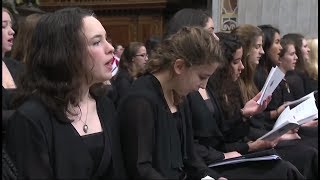 Oakcrest Choir Sings at Papal Mass with the Sistine Chapel Choir