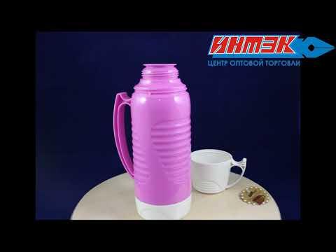 Термос 450 мл стекл.колба, пласт.корпус Арт.LFF112207