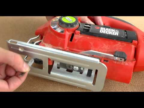 Black and Decker Adjustable Jigsaw initial review from DIY with Chris