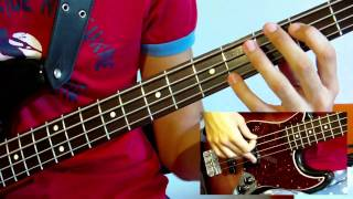 The Adventures Of RainDance Maggie [Bass Lesson With TABS]  (RHCP)