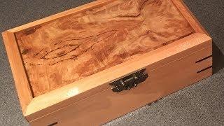 My First Woodwork Project - Keepsake Box