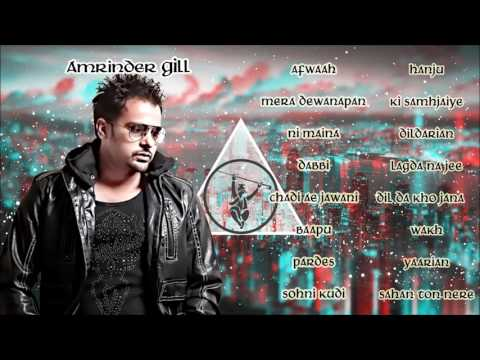 Download Best Of Amrinder Gill | Audio Jukebox | Latest Punjabi Songs Collection HD Mp4 3GP Video and MP3