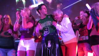Cruise NKOTB 2014 Joey McIntyre dancing with Marlene Knight, G.P.S. night