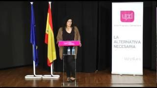 preview picture of video 'Intervención Eva Sanchez acto de Coslada Septiembre de 2014 (parte 1 de 2)'