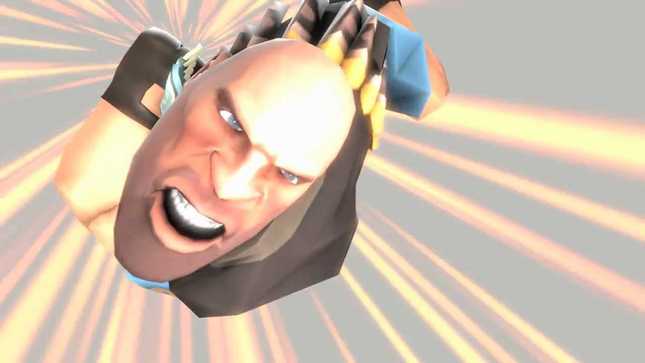 Team Fortress 2's Heavy Makes An Awesome Captain Falcon