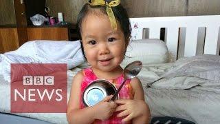Parents hope 'frozen' child will live again - BBC News