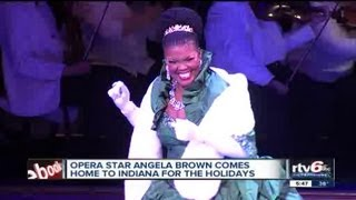 Opera star Angela Brown reflects on Hoosier roots, achieving her success