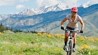 Mountain biking at Sun Valley's Bald Mountain
