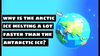 Why is Antarctica the South Pole colder than the Arctic the North Pole? Even though...  3D Animation