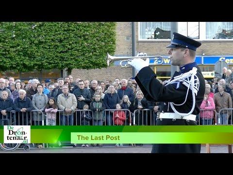 VIDEO | The Last Post tijdens de dodenherdenking op het Redeplein