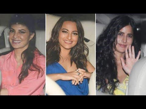 Katrina Kaif, Jacqueline Fernandez, Sonakshi SInha