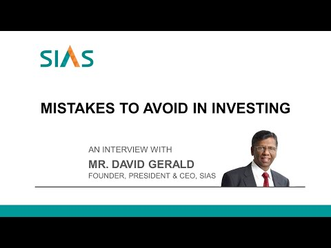 Mistakes to avoid in investing