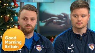 Inspiring Football Team Backs GMB's 1 Million Minutes Campaign | Good Morning Britain