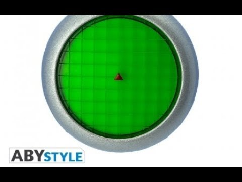 ABYStyle DRAGON BALL Z Keychain 3D Premium Radar