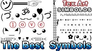 Symbols Cool Text Art Characters Different Letters (Símbolos Caracteres)