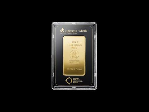 Video - 100 g Goldbarren - Heimerle + Meule