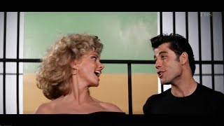 Olivia Newton John. John Travolta - GREASE / グリース 1978