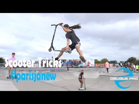 Scooter Tricks by @parisjanew