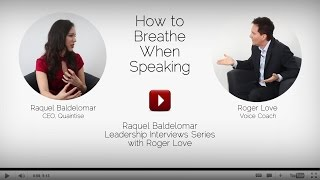 Sound Like A Leader: How To Breathe Correctly When Speaking