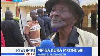 Mzee ajitokeza kupiga kura katika kaunti ya Migori