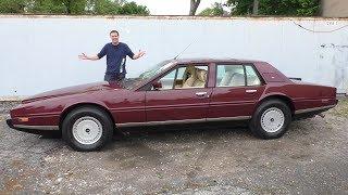 Aston Martin Lagonda за $370 000 это самая странная люксовая машина в истории