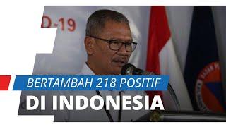 Update Kasus Covid-19 di Indonesia per 6 April, Pasien Positif Bertambah 218 Orang dalam Sehari