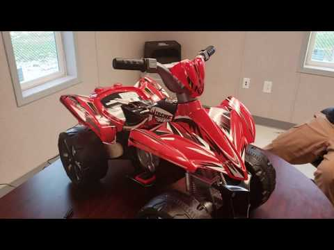 Kid Motorz Xtreme Quad Red 6V Ride On - UNBOXING | ASSEMBLY