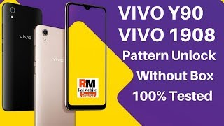 Vivo Y90 [1908] Pin,Pattern Unlock Without Box 100% Tested 2019 New Trick