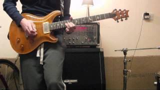 Dance Gavin Dance - The Backwards Pumpkin Song (Guitar Cover SL)