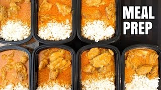 How to Meal Prep - Ep. 8 - BUTTER CHICKEN