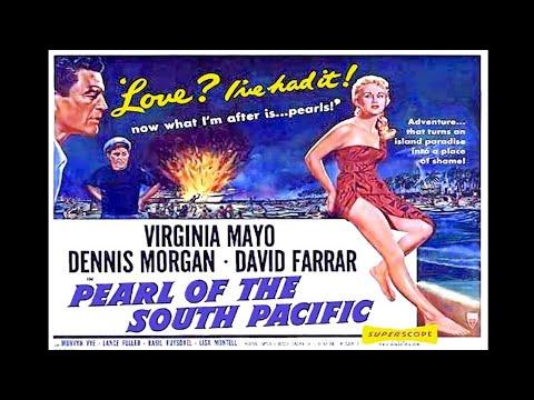 A Sereia dos Mares do Sul (1955), com Virginia Mayo, filme completo em HD  e legendado
