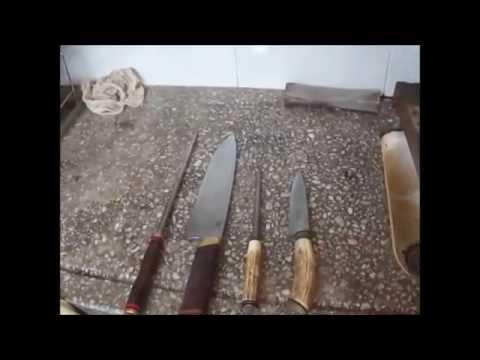Afilado Manual de cuchillos criollos