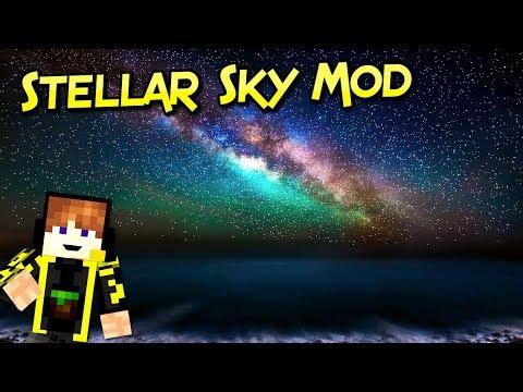 Stellar Sky Mod | Noches Realistas Para Tus Aventuras | Minecraft 1.12.2 – 1.7.10 | Review Español