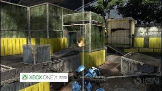 Confronto Halo 3 Xbox 360 vs X
