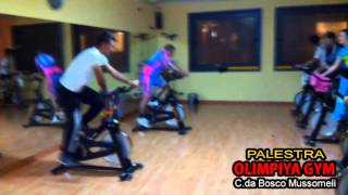 preview picture of video 'LEZIONE SPINNING PAOLO PALUMBO - OLIMPYA GYM PALESTRA  MUSSOMELI'