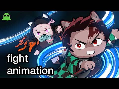 貓咪版《鬼滅之刃》神還原動畫版第19集