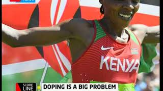 Score Line:Doping which is a big problem to Kenyan athletes`