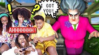 SCARY TEACHER ALMOST CAUGHT US (Scary Teacher 3D) - Onyx Kids