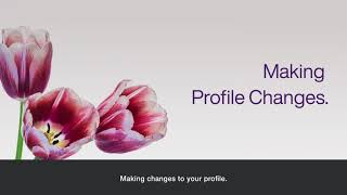 Making profile changes in the TELUS Health Provider portal