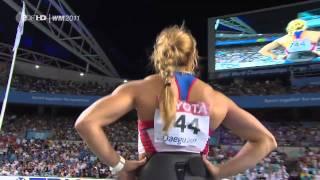 Mariya Abakumova 71,99m Daegu 2011