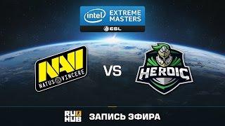 Natus Vincere vs Heroic - IEM Katowice - Group B - de_overpass [Enkanis, yxo]