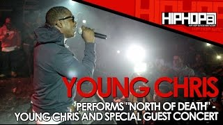 """Young Chris Performs """"North Of Death"""" At The TLA In Philly (10/09/14)"""
