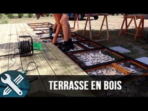 Bricolage Vlogs - Réalisation d'une terrasse en bois