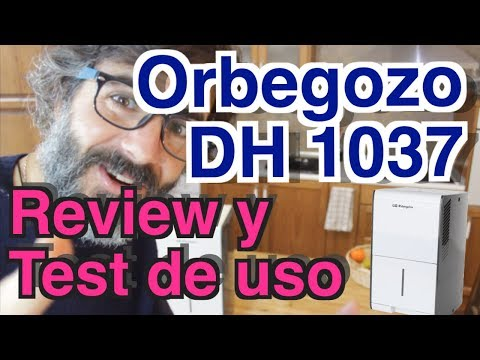 ORBEGOZO DH 1037 deshumidificador - Prueba de uso (test/review)