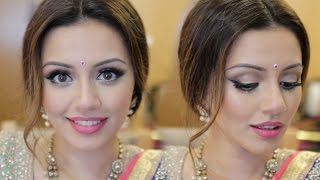 Indian Wedding Get Ready With Me | Eid Makeup Look | Kaushal Beauty - Download this Video in MP3, M4A, WEBM, MP4, 3GP