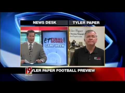 TYLER PAPER HS FOOTBALL PREVIEW