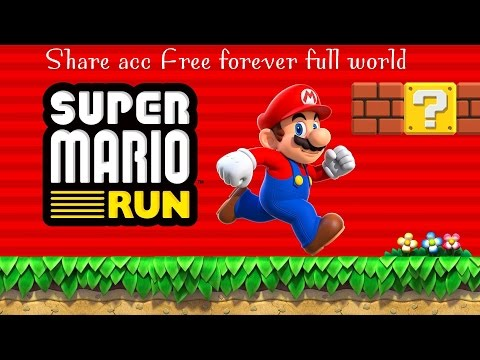 Share acc Super Mario Run: full 6 world $10 pack for free (no Jaibreak required and no pc)